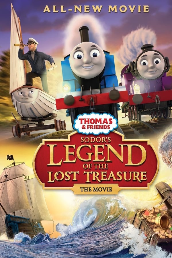 Thomas And Friends: Sodor's Legend Of The Lost Treasure Movie Poster