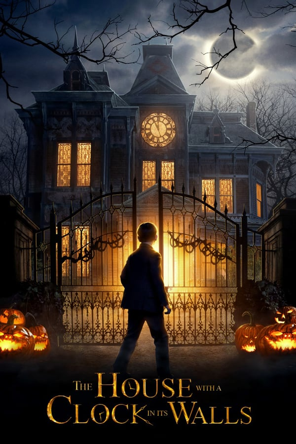 THE HOUSE WITH THE CLOCK IN ITS WALL Movie Poster