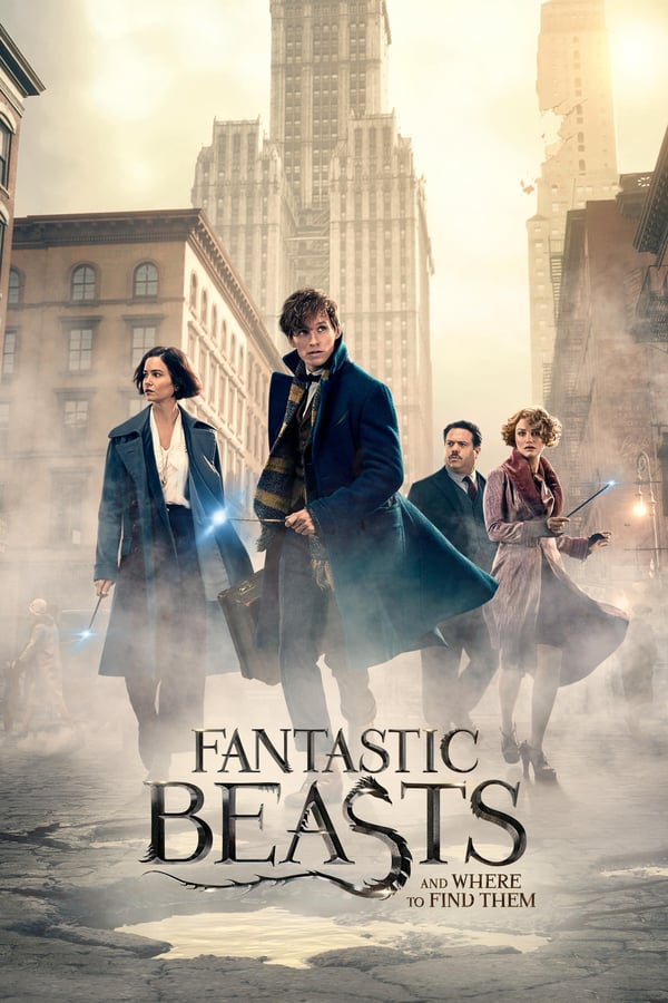 FANTASTIC BEAST & WHERE TO FIND THEM Movie Poster