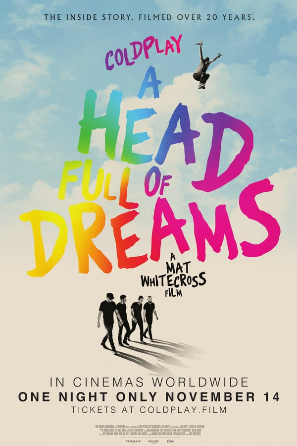 Coldplay: A Head Full of Dreams Movie Poster
