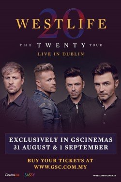 Westlife: The Twenty Tour Live From Croke Park Movie Poster