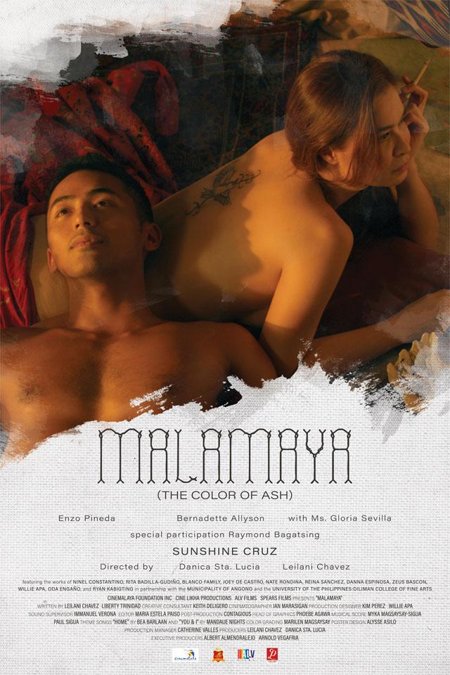 Malamaya (The Color of Ash) Movie Poster