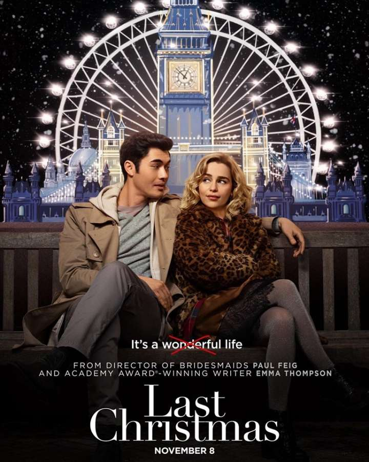 """Image result for last christmas movie poster"""""""