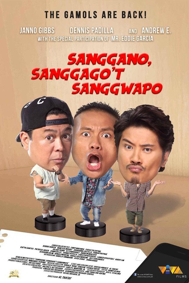 Sanggano, Sanggago't Sanggwapo Movie Poster