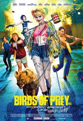 Birds of prey Movie Poster