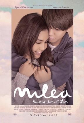 Milea suara dari dilan Movie Poster