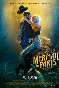 A Mermaid In Paris Movie Poster
