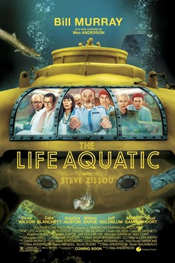 The Life Aquatic With Steve Zissou Movie Poster