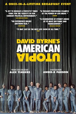 David Byrne's American Utopia Movie Poster
