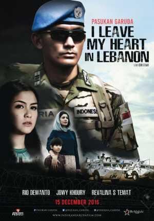 Pasukan garuda : i leave my heart in lebanon Movie Poster