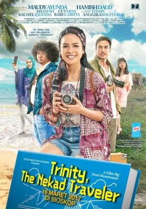 Trinity, the nekad traveler Movie Poster
