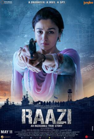 Raazi Movie Poster