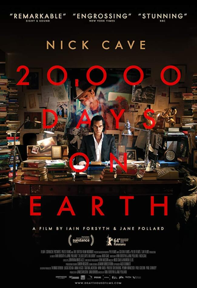 20, 000 Days On Earth: Nick Cave  Movie Poster
