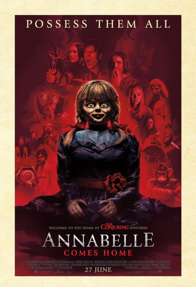 Annabelle Comes Home (2019) Showtimes, Tickets & Reviews | Popcorn