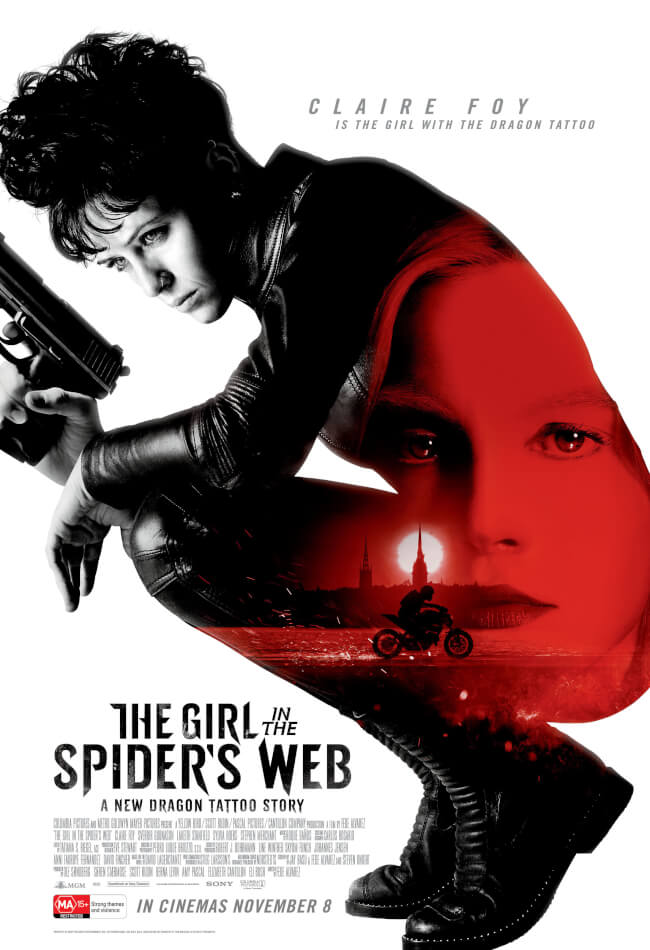 The girl in the spiders web Movie Poster