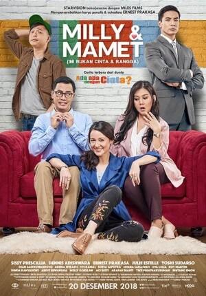Milly & mamet Movie Poster