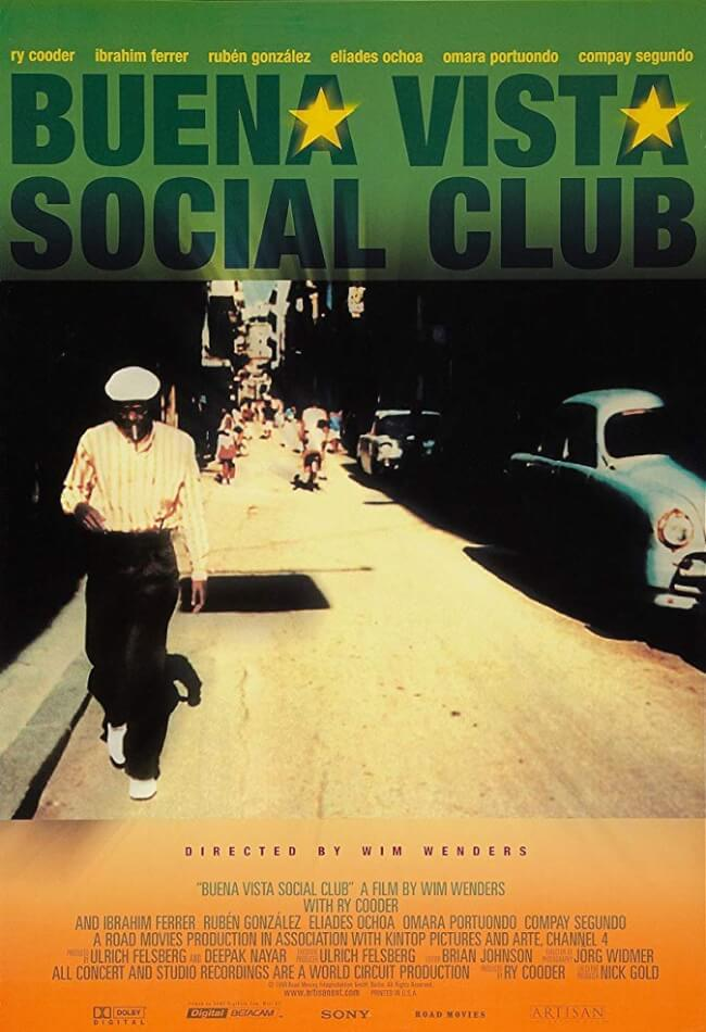 Buena Vista Social Club Movie Poster
