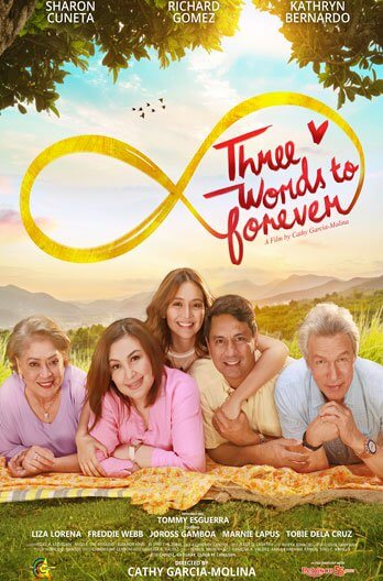 Three Words To Forever Movie Poster