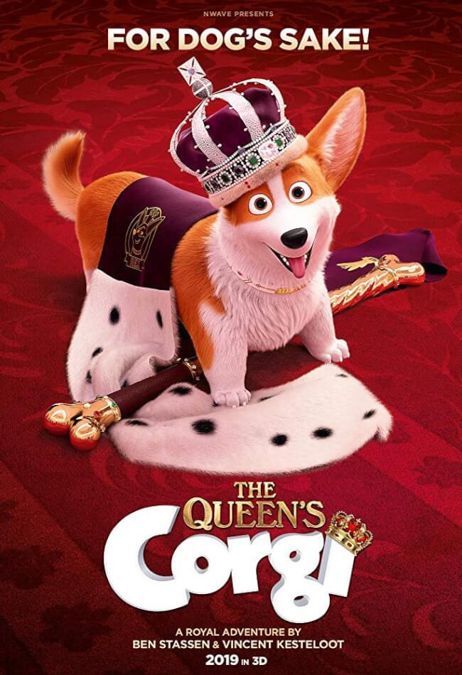 The Queen's Corgi Movie Poster