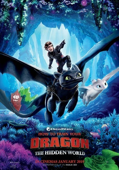 How to train your dragon: the hidden world Movie Poster