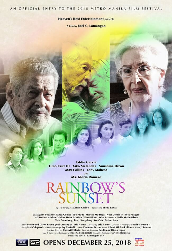 Rainbows Sunset Movie Poster