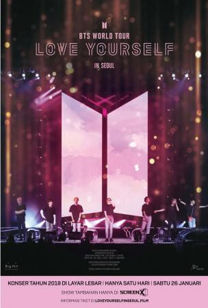 BTS World Tour - Love Yourself in Seoul Movie Poster
