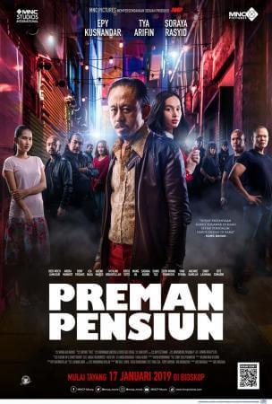 Preman pensiun Movie Poster