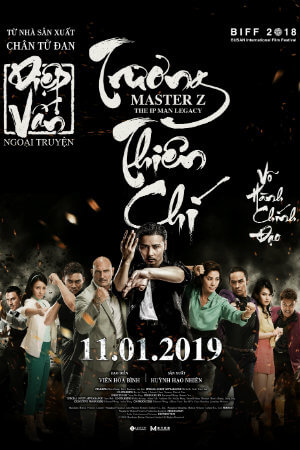 MASTER Z: IP MAN LEGACY Movie Poster