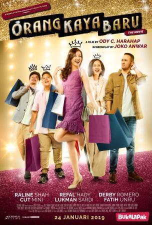 Orang kaya baru the movie Movie Poster