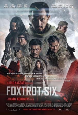 Foxtrot six Movie Poster