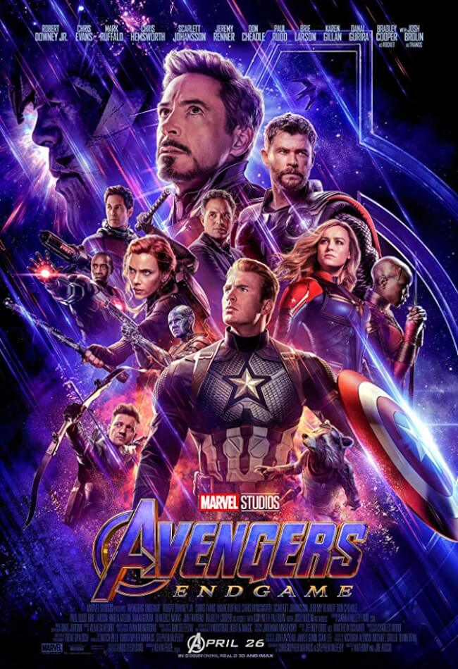 AVENGERS 4: ENDGAME Movie Poster
