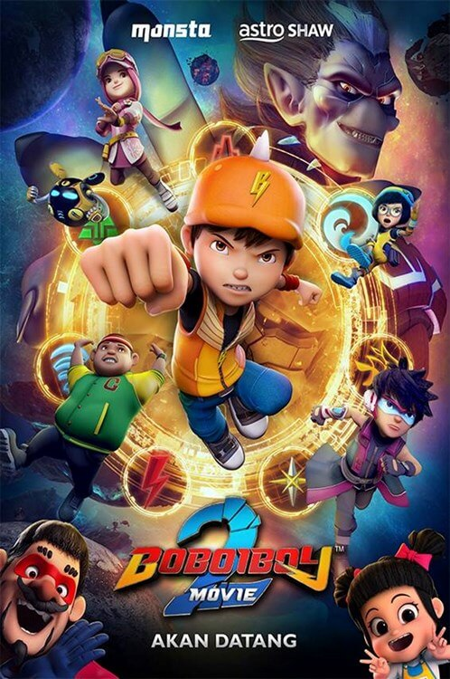 BoBoiBoy The Movie 2 Movie Poster