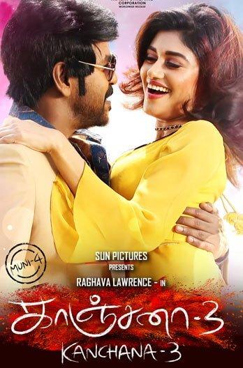 Kanchana 3 Movie Poster