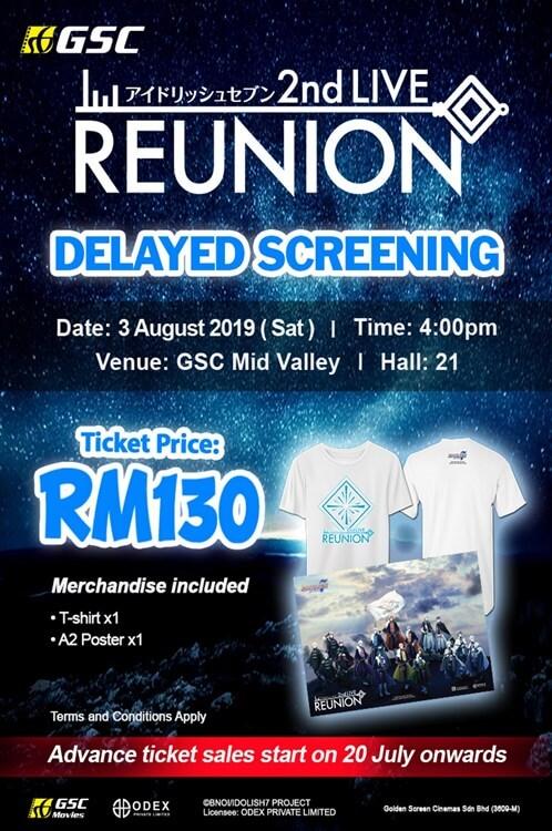 IDOLiSH7 2nd Live ~Reunion~ Movie Poster