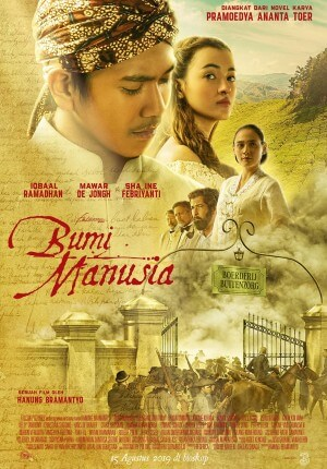 Bumi manusia Movie Poster