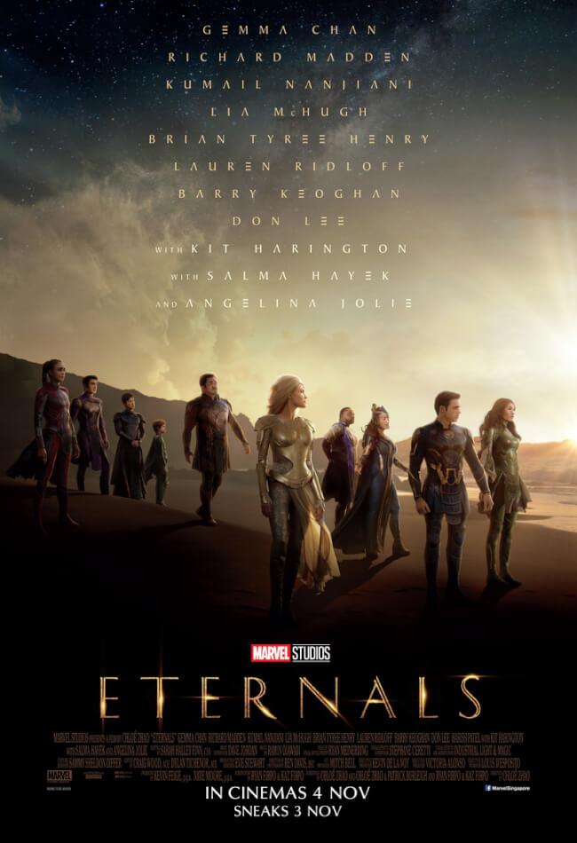 Marvel Studios: Eternals Movie Poster