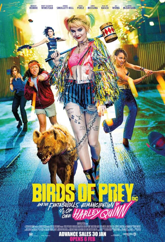 Birds Of Prey: And The Fantabulous Emancipation Of One Harley Quinn Movie Poster