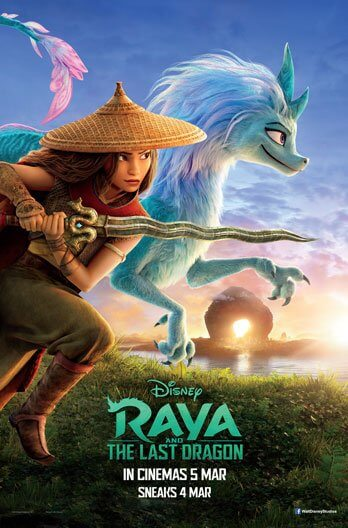 Raya And The Last Dragon Movie Poster