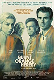 The Burnt Orange Heresy Movie Poster