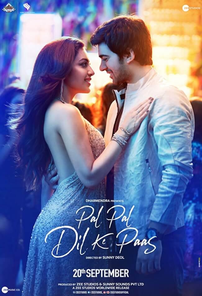 Pal Pal Dil Ke Paas 2019 Hindi Movie DVDScr 1.2GB