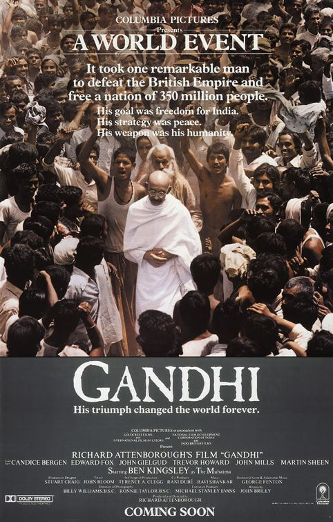 Gandhi Movie Poster