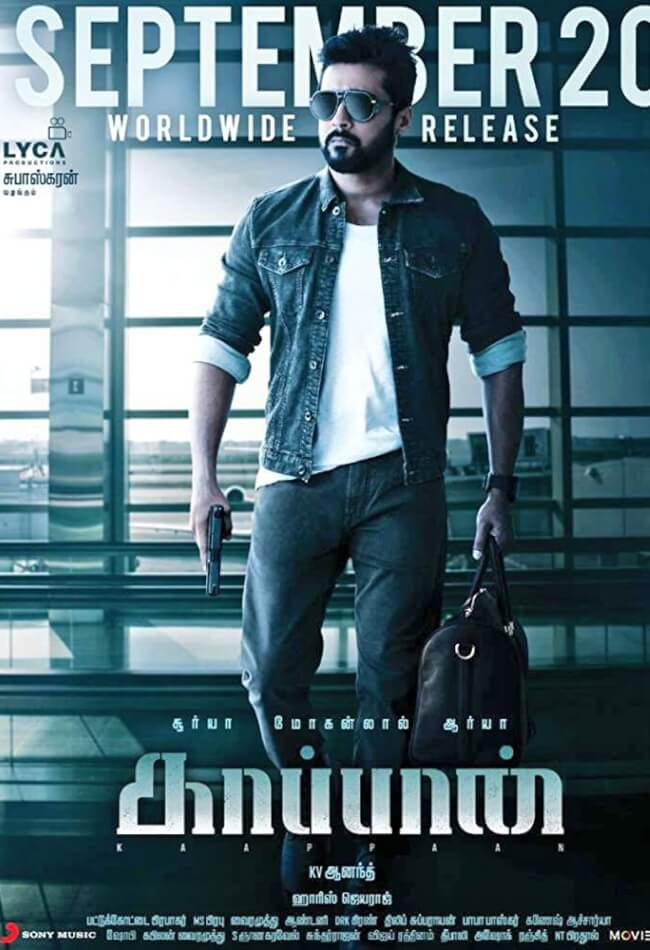 Kaappaan Movie Poster