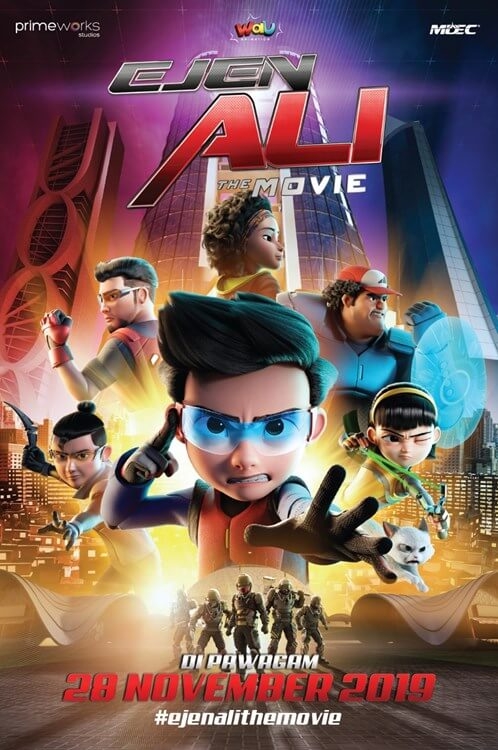 Ejen Ali: The Movie Movie Poster