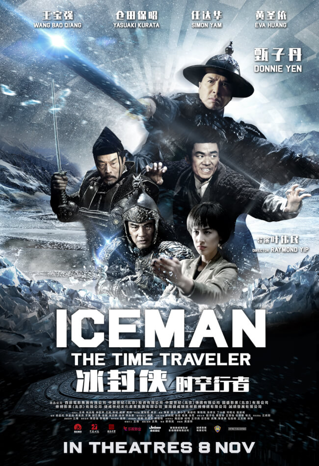 Iceman: The Time Traveler Movie Poster