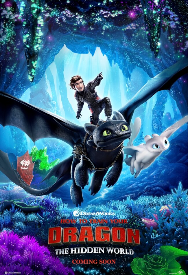 Image result for how to train your dragon 3 movie poster