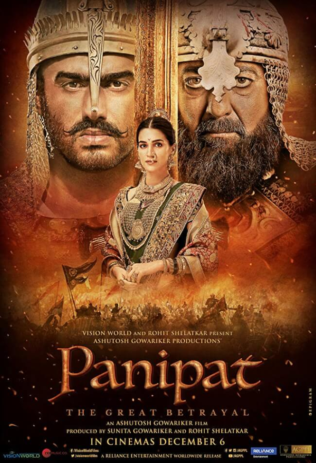 Panipat Movie Poster