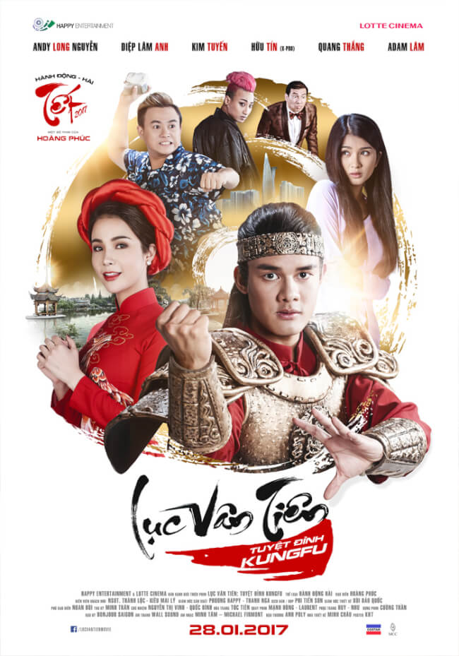 LUC VAN TIEN: TUYET DINH KUNGFU Movie Poster