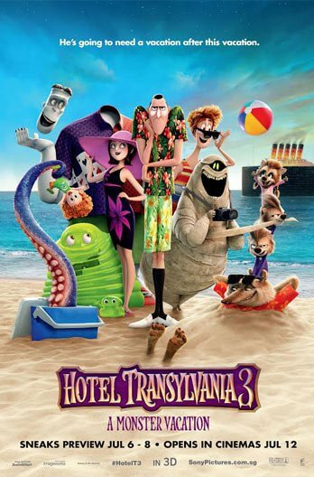 Hotel Transylvania 3: A Monster Vacation Movie Poster