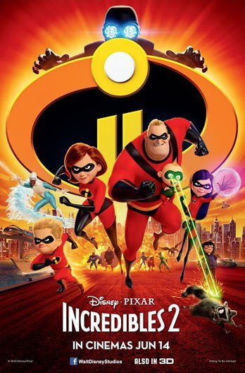 Incredibles 2 (2018) BDRip 720p 1.4GB Org [Tamil-Telugu-Hindi-Eng] ESubs MKV