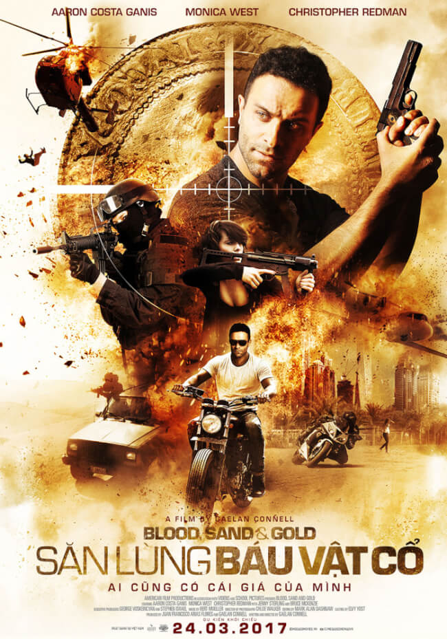 BLOOD, SAND & GOLD Movie Poster